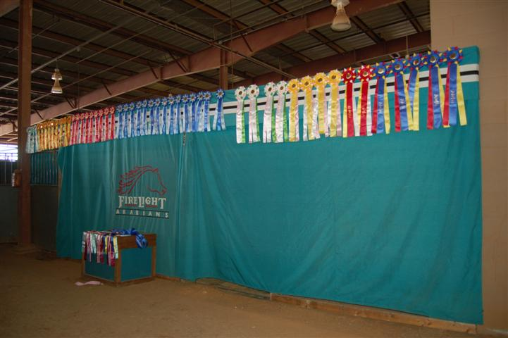 The wall of ribbons!!!!!